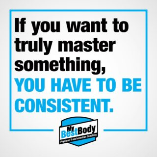 If you want to master any skill, no matter what that skill is, you have to be consistent.  Taking control of your physique/training/nutrition or even your studies or personal life requires a level of commitment. Even if your chosen method or plan is not the right one, you will only find that out with consistency.  With constant action and dedication to the daily requirements you can then figure out what is optimal. But you cannot figure that out with no consistency of ACTION. Dreaming about and thinking about what you should have or want to do will do nothing but make you stressed out and anxious.  Don't procrastinate, just do. Get started even if it's something small.. or choose the biggest hardest task for the day and get it done first. Whatever works for you but the same principle remains... consistency is at the core of all of it.  #mybestbody #restart2020 #onlinecoaching #healthymindhealthybody #consistency
